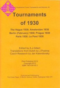Tournaments of 1930