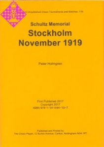 Stockholm November 1919