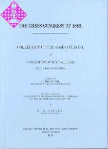 The Chess Congress of 1862 (London)