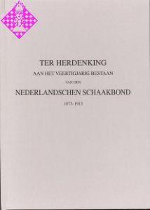 Nederlandschen Schaakbond 1873-1913