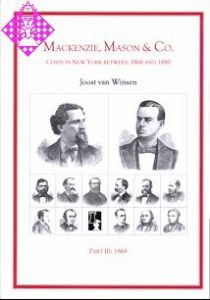 Mackenzie, Mason & Co. Part III 1869