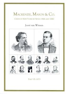 Mackenzie, Mason & Co. Part VI 1873
