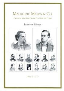 Mackenzie, Mason & Co. Part VI 1873
