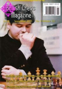 British Chess Magazine September 2011