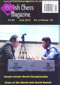 British Chess Magazine June 2012