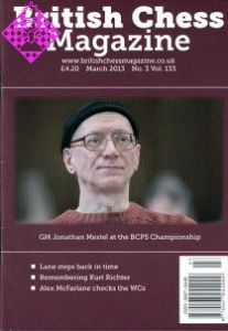 British Chess Magazine March 2013