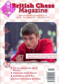 British Chess Magazine November 2013
