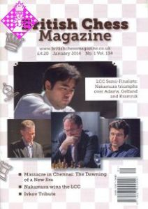 British Chess Magazine -January 2014