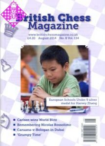 British Chess Magazine - August 2014