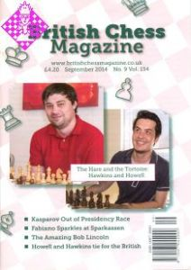 British Chess Magazine - September 2014