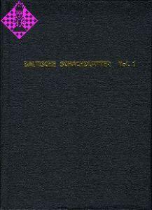 Baltische Schachblätter Vol. 1 / 1888 - 1893