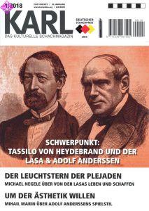 Karl - Die Kulturelle Schachzeitung 2018/1