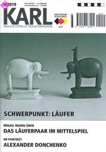 Karl - Die Kulturelle Schachzeitung 2019/4