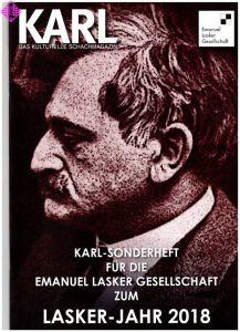 Karl - Sonderheft Laskerjahr 2018