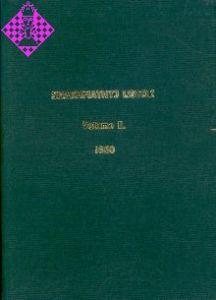 Shakhmatnyj Listok / Vol. II - 1860