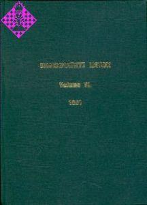 Shakhmatnyj Listok / Vol. III - 1861