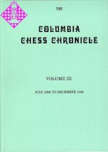 Columbia Chess Chronicle Vol. III