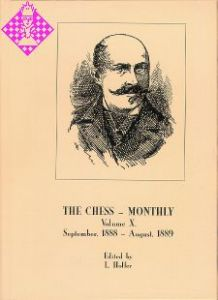 The Chess Monthly Vol. X
