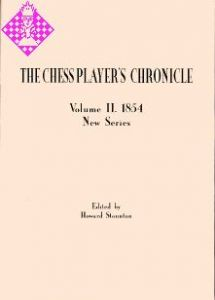 The Chess Player's Chronicle 1854