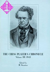 The Chess Player's Chronicle 1843