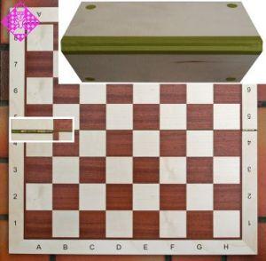 Schachbrett Nr. 5, klappbar, FG ca. 50mm, BG 48cm