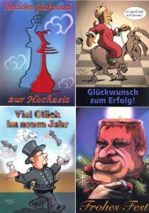 Postkartenset Schachtherapeut