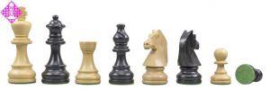 """Schachfiguren Classic Staunton, """"franz."""" Läufer"""