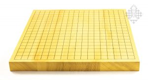 Go-Brett 19 x 19 (Rückseite xiangqi)