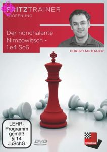 Der nonchalante Nimzowitsch - 1.e4 Sc6