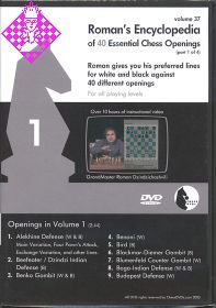 Roman's Encyclopedia of 40 Essential Chess Opening 1