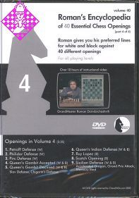 Roman's Encyclopedia of 40 Essential Chess Opening 4