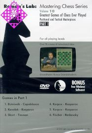 Greatest Games of Chess Ever Played part 1
