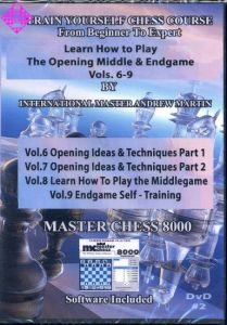Train Yourself Chess Course (vol. 6-9)